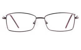 Poesia 6654 Stainless steel/PC Womens Full Rim Optical Glasses
