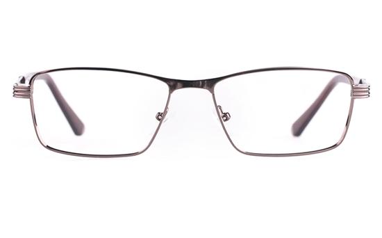 Poesia 6657 Stainless steel/PC Mens Full Rim Optical Glasses