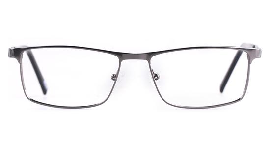 Poesia 6656 Stainless steel/PC Mens Full Rim Optical Glasses