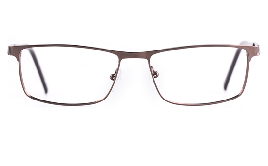Poesia 6656 Stainless steel/PC Mens Full Rim Optical Glasses