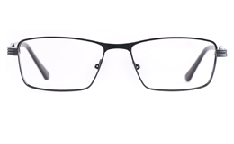 Poesia 6657 Stainless steel/PC Mens Full Rim Optical Glasses for Fashion,Classic,Nose Pads Bifocals
