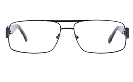 Vista First 1634 Stainless steel/ZYL Mens Full Rim Optical Glasses for Fashion,Classic,Nose Pads Bifocals