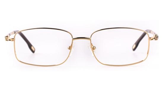 Vista First 8903 Stainless steel/ZYL Mens Full Rim Optical Glasses