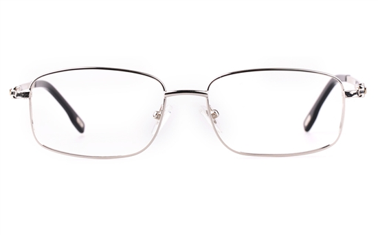 Vista First 8903 Stainless steel/ZYL Mens Full Rim Optical Glasses