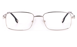 Vista First 8906 Stainless steel/ZYL Mens Full Rim Optical Glasses for Fashion,Classic,Nose Pads Bifocals
