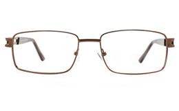 Poesia 6070 Stainless Steel Mens Full Rim Optical Glasses