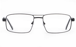 Poesia 6063 Stainless Steel Mens Full Rim Optical Glasses for Fashion,Classic,Nose Pads Bifocals