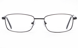 Poesia 6064 Stainless Steel Mens   Womens Full Rim Optical Glasses for Fashion,Classic,Nose Pads Bifocals