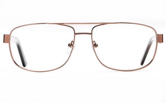 Poesia 7707 Stainless steel/ZYL Mens Full Rim Optical Glasses