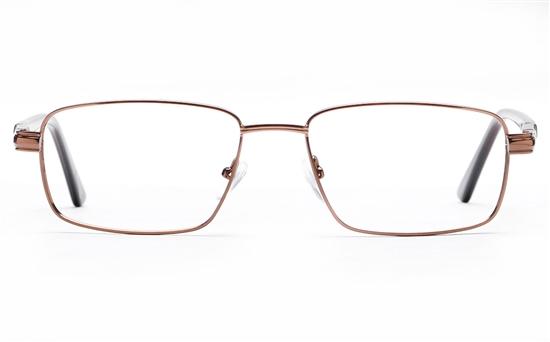 Poesia 6661 Stainless Steel Mens Full Rim Optical Glasses