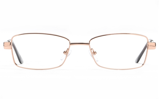 Poesia 6059 Stainless Steel Womens Full Rim Optical Glasses