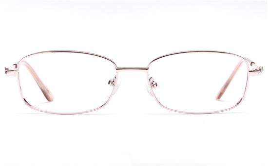 Poesia 6060 Stainless Steel Womens Full Rim Optical Glasses