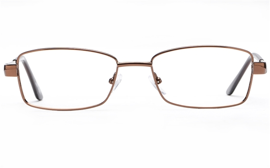 Poesia 6059 Stainless Steel Womens Full Rim Optical Glasses