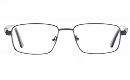 Poesia 6661 Stainless Steel Mens Full Rim Optical Glasses for Fashion,Classic,Nose Pads Bifocals