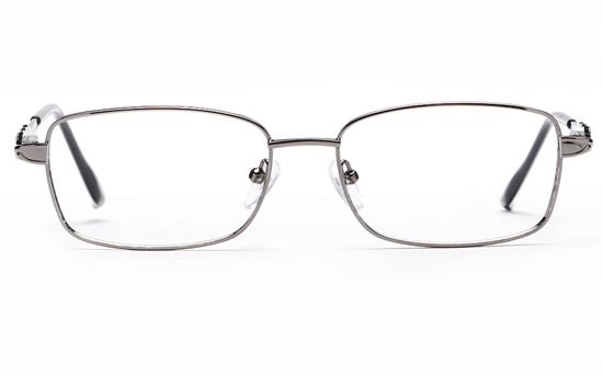 Poesia 6658 Stainless Steel Womens Full Rim Optical Glasses