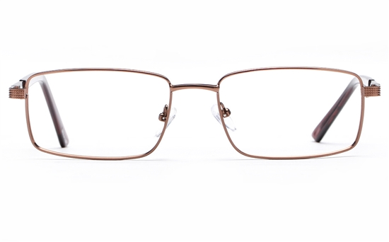 Poesia 6062 Stainless Steel Mens Full Rim Optical Glasses