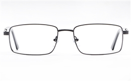 Poesia 6062 Stainless Steel Mens Full Rim Optical Glasses for Fashion,Classic,Nose Pads Bifocals
