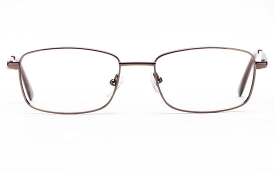 Poesia 6064 Stainless Steel Mens & Womens Full Rim Optical Glasses