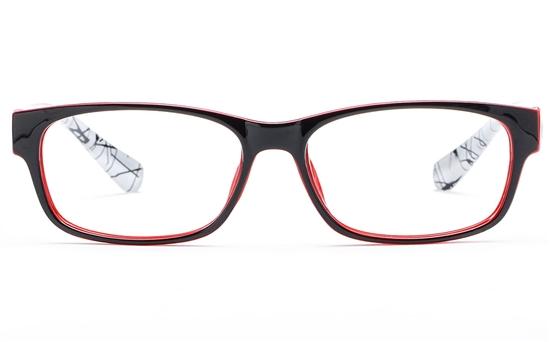 Poesia 3130 Polycarbonate(PC) Mens & Womens Full Rim Optical Glasses