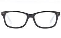 Poesia 3131 Polycarbonate(PC) Mens & Womens Full Rim Optical Glasses