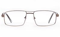 Poesia 6063 Stainless Steel Mens Full Rim Optical Glasses