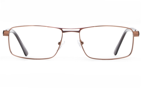 Poesia 6662 Stainless Steel Mens Full Rim Optical Glasses