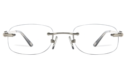 Vista First 8958 Stainless steel/ZYL Womens Rimless Optical Glasses
