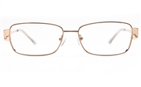 Vista First 8827 Stainless steel/ZYL Womens Full Rim Optical Glasses