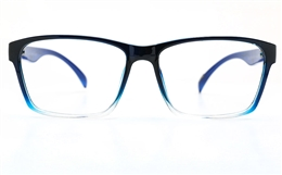 Poesia 3134 Polycarbonate(PC) Mens   Womens Full Rim Optical Glasses for Fashion,Classic,Nose Pads Bifocals