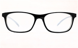 Poesia 3136 Polycarbonate(PC)  Womens Full Rim Optical Glasses for Fashion,Classic,Nose Pads Bifocals