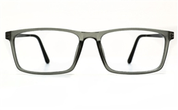 Poesia 7022 TR90/ALUMINUM Mens Full Rim Optical Glasses for Fashion,Classic,Nose Pads Bifocals