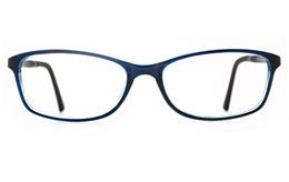 Poesia 7026 TR90/ALUMINUM Womens Full Rim Optical Glasses for Fashion,Classic,Nose Pads Bifocals