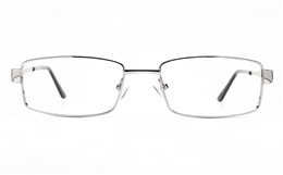 Poesia 6065 Stainless Steel Womens Full Rim Optical Glasses for Fashion,Classic,Nose Pads Bifocals