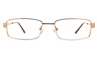 Poesia 6065 Stainless Steel Womens Full Rim Optical Glasses