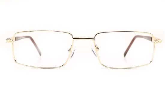 Poesia 6068 Stainless Steel Mens Full Rim Optical Glasses