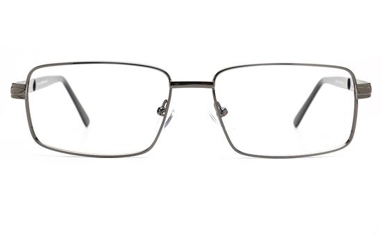 Poesia 6675 Stainless Steel Mens Full Rim Optical Glasses