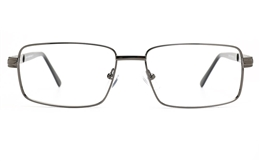 Poesia 6674 Stainless Steel Mens Full Rim Optical Glasses for Fashion,Classic,Nose Pads Bifocals