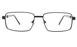 Poesia 6675 Stainless Steel Mens Full Rim Optical Glasses for Fashion,Classic,Nose Pads Bifocals