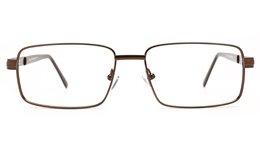 Poesia 6674 Stainless Steel Mens Full Rim Optical Glasses