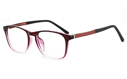 TR90/ALUMINUM Womens Full Rim Glasses 7027 for Fashion,Classic,Party,Sport Bifocals