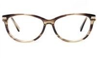 Womens Oval Prescription Glasses 0887