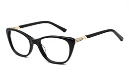 Acetate Womens Glasses 0885 for Fashion,Classic,Nose Pads Bifocals