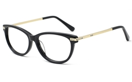 Womens Oval Prescription Glasses 0887 for Fashion,Classic,Party Bifocals