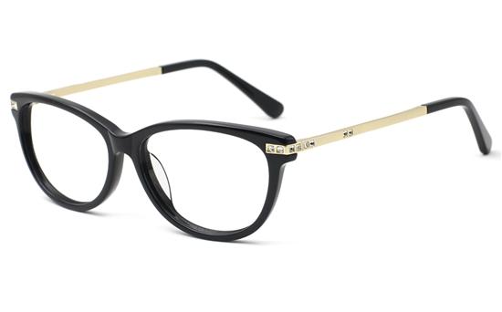Womens Oval Prescription Glasses 0887