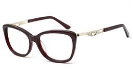 Womens Oval Glasses 0888