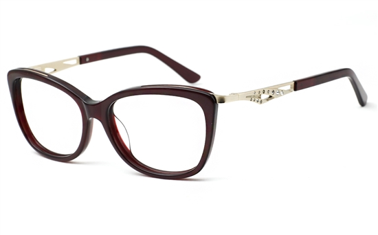 Womens Oval Glasses 0888