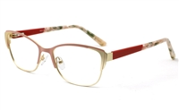 Stainless Steel womens Cat Eye Glasses 1812