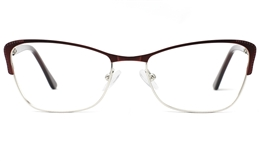 Womens Cat Eye Glasses 1813 for Fashion,Classic,Party Bifocals