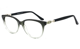 Womens Round Prescription Glasses 0303 for Fashion,Classic,Party Bifocals