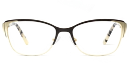 Stainless Steel womens Cat Eye Glasses 1812 for Fashion,Classic,Party Bifocals
